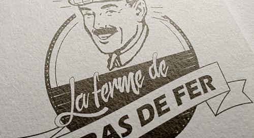 Logo de la ferme Bras de Fer dans le Nord-Gironde