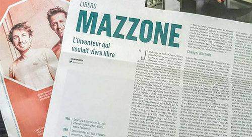 Article de Valen pour Laserfix dans le magasine La ribuune