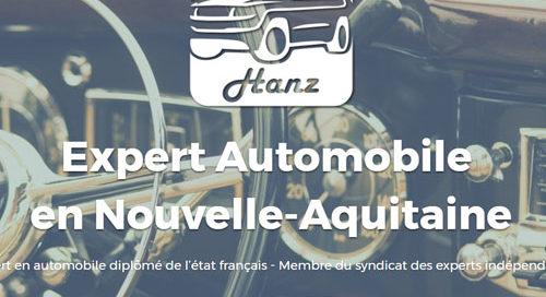 Extrait du site internet de Cabinet Hanz, expert automobile en nouvelle aquitaine.