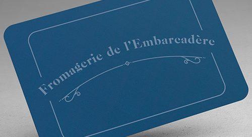 Logo de la Fromagerie de l'embarcadère située à Blaye